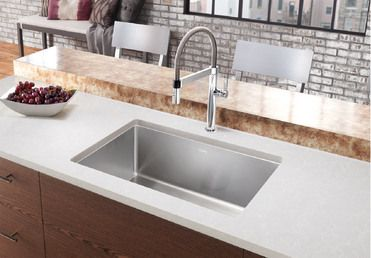 Blanco Quatrus R15 Sink Stainless Steel Kitchen Single Bowl