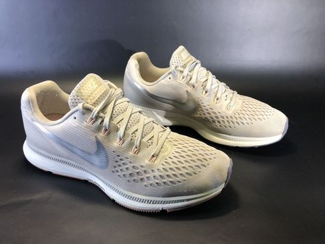 cb8a19f972e01 Nike Women s Air Zoom Pegasus 34 Running Shoes Light Bone 880560-004 Size  10  fashion  clothing  shoes  accessories  womensshoes  athleticshoes (ebay  link)