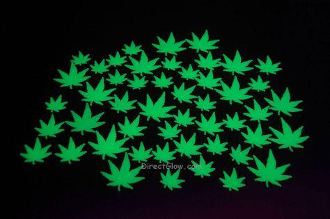 Marijuana Green Leaf Boa Cannabis Weed Pot Ganja Costume Accessory Prop 420 New