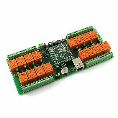 Ad Ebay Denkovi Lan Ethernet Snmp Ip 16 Relay Board Smartden 24vdc In 2020 Relay Web Box Things To Sell
