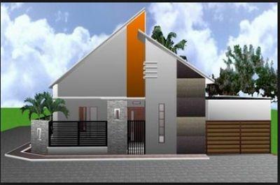 contoh model pagar tembok sederhana | rumah minimalis