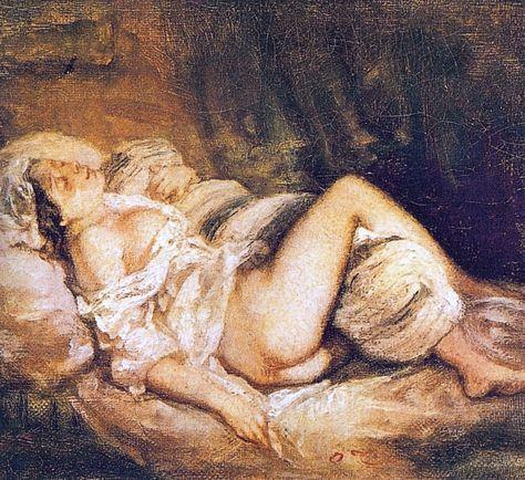 The Dream of Love by Fragonard.