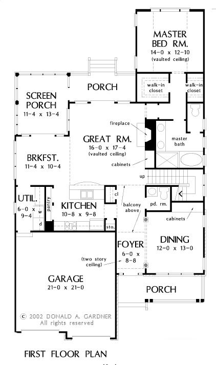 Conceptual House Plan 1493 Narrow Two Story Country Style House Plans House Plans House Plans With Photos