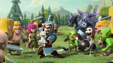 Clash Of Clans Movie -  Animation video  Funny 