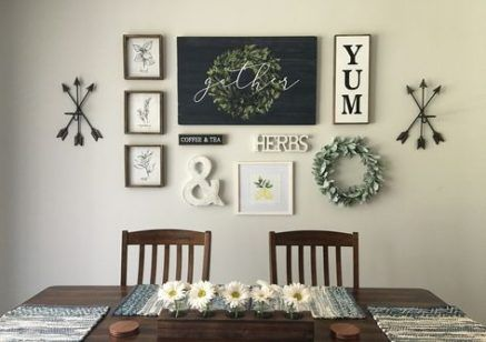 Home Sign With Wreath Hobby Lobby 53 Ideas Dinning Room Wall Decor Dining Room Gallery Wall Dining Room Wall Art