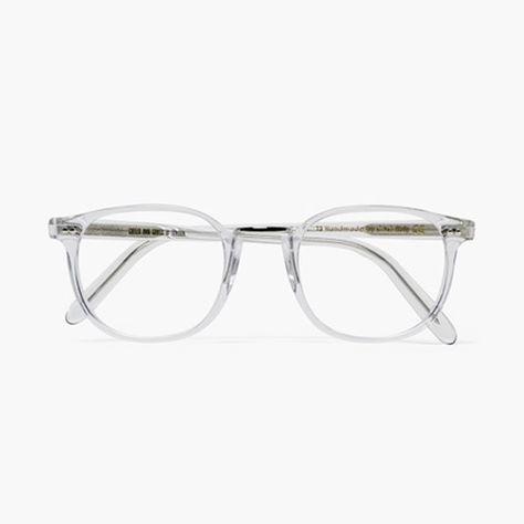 stxxz: Cutler & Gross Clear Optical Frames. I WANT