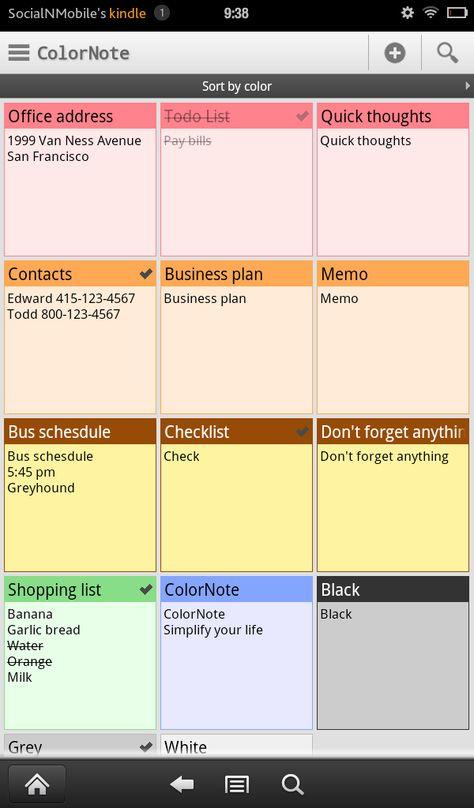 Best 25+ Colornote pc ideas on Pinterest Adverbio modo, Kaizen - delivery docket