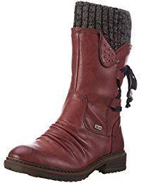 Rieker 94773 Damen Halbschaft Stiefel #schuhe #geschenkideen