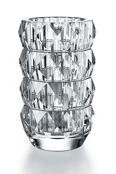 Baccarat Crystal Louxor Round Vase Baccarat Crystal Vase Round Vase