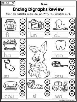 Easter Literacy Worksheets 1st Grade Distance Learning Kindergarten Reading Activities Phonics Kindergarten Kindergarten Reading Centers Language arts worksheets for graders