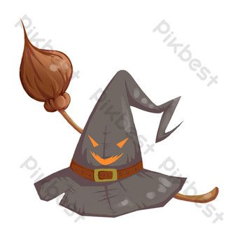 Hand Drawn Wizard Hat Illustration Png Images Psd Free Download Pikbest How To Draw Hands Png Images Illustration
