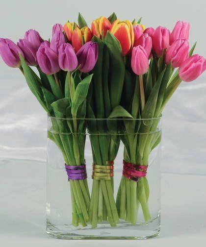 ورود رومانسية للاهداء رومانسية للاهداء ورود Tulips Arrangement Tulips Flowers Beautiful Flowers Wallpapers