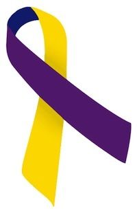 2.5/' Bladder cancer Bone cancer awareness brooch pin yellow ribbon butterfly brooch Veteran education support Bring vets home ribbon