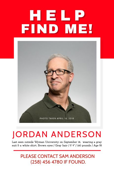 Pin On Missing Posters