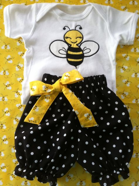 Embroidered Bee Bloomers Personalized Bee Bloomers Bee Birthday Bloomers Bumblebee Birthday Bloomers
