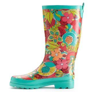 Waterproof Rain Boots   Kohls