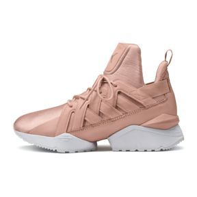 Muse Echo Satin En Pointe Women's Trainers, Peach Beige Puma