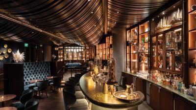 Speakeasy In The Spheres Is As Extravagant As It Sounds Speakeasy Speakeasy Wedding Seattle Restaurants