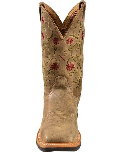 bcc1f846069 Twisted X Women's Floral Steel Toe Western Work Boots in 2019 ...