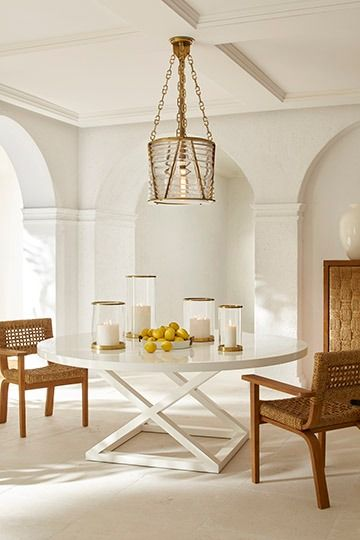 The Ralph Lauren Home Lighthouse Inspired Chatham Pendant Above