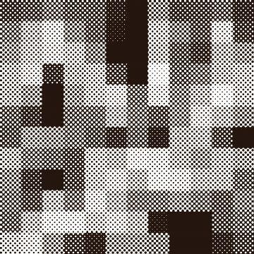 2020 的 Halftone Grid Background With Vintage Style Pattern