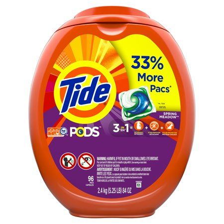 Household Essentials Tide Pods Laundry Detergent Liquid