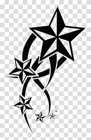 Nautical Star Tattoo Artist Drawing Tribal Animal Transparent Background Png Clipart Nautical Star Tattoos Star Tattoos Nautical Star