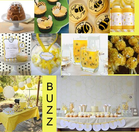 Bumble bee party... could be a birthday or baby/bridal shower