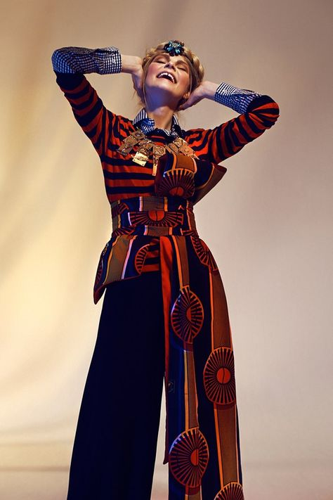 Giorgio Armani Chooses Stella Jean To Show At Armani Teatro (Vogue.com UK)