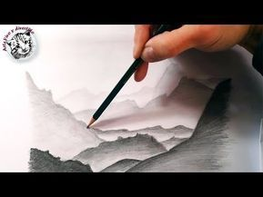 Como Dibujar Montañas Realistas A Lapiz Faciles Y Paso A Paso Youtube Arboles Dibujos A Lapiz Paisaje A Lapiz Dibujos Sombreados A Lapiz