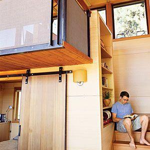 24 inspiring small homes   Washington cabin: Nook   Sunset.com