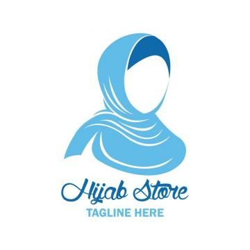 Stock Vector Hijab Logo Vector Style Beautiful Icon Png And Vector With Transparent Background For Free Download Hijab Logo Vector Logo Vector Illustration