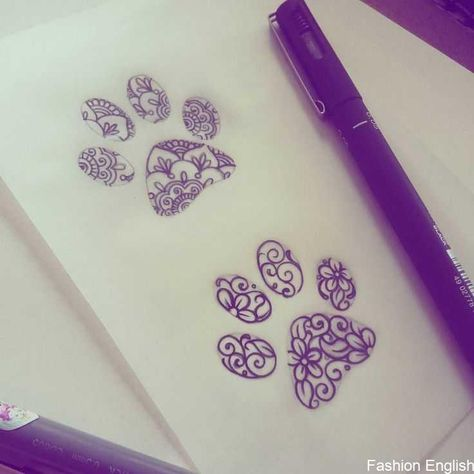 Sketching paws! 🐾💗 What will Flavia want ... What to stay ... - #Flavia #paws #Sketching #stay