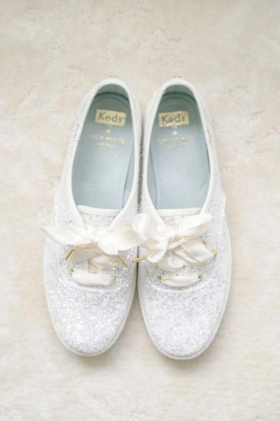 glitter bridal sneakers