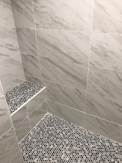 Home Decorators Collection Kolasus White 12 In X 24 In Polished Porcelain Floor And Wall Tile 16 Sq Ft Case Nhdkolwhi1224p The Home Depot In 2020 Bathrooms Remodel Bathroom Interior Design Small Bathroom Makeover
