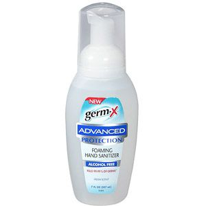 Germ X Advanced Protection Fresh Scent Foaming Hand Sanitizer 7