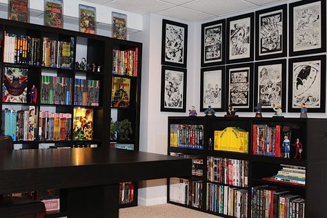 Pin by Steven Anderson on Comic Book Space | Comic room, Home