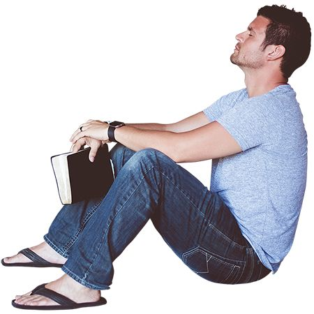 A Man In Flip Flops Sitting On The Ground And Leaning Against Something Apparently Deep In Thought Over What He Had Jus People Cutout People Png Sitting Poses