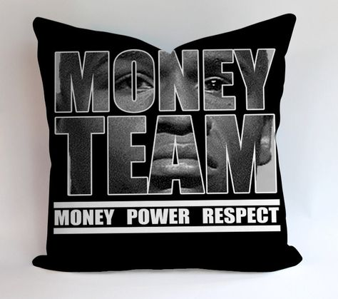 Money Team Manny Pacquiao Vs Floyd Mayweather Pillowcases Pillow Cases