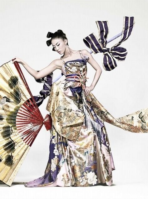 National Costume for Miss Universe Japan 2010 Maiko Itai. Dream Costume d