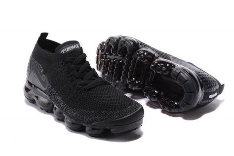 big sale c5683 01f80 Interesting Nike Air VaporMax Flyknit 2 TPU Triple Black ...