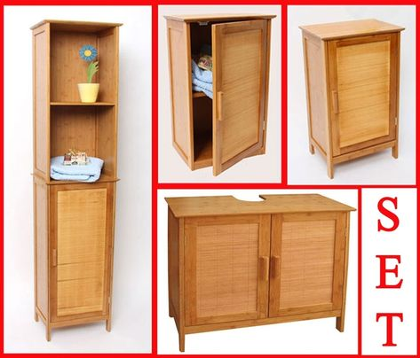 Badezimmerschrank Bambus Mit Bildern Schrank Bauen Badezimmer Schrank Schrank Selber Bauen