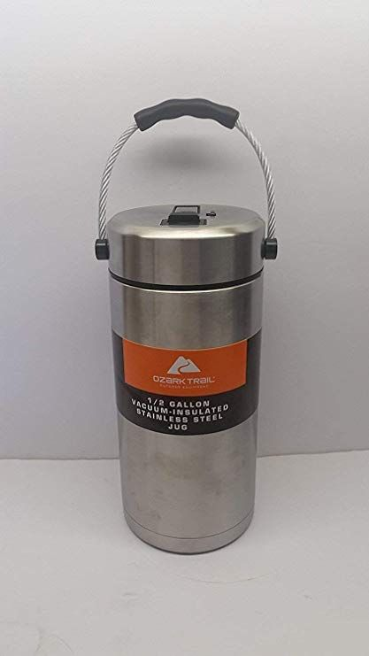 Ozark Trail 1 2 Gallon Vacuum Insulated Stainless Steel Tumbler Jug Stainless Steel Tumblers Vacuum Insulated Tumbler