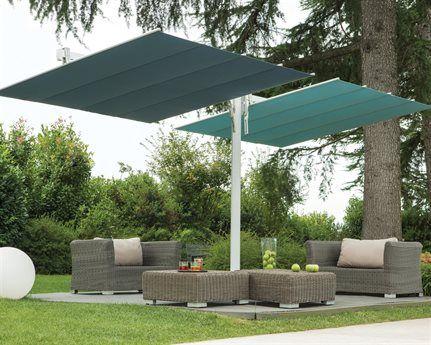 Fim Umbrellas 8 X 17 Flexy Twin Umbrella Offset Patio Umbrella Patio Shade Patio Umbrella Stand