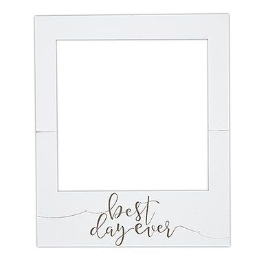 Large Wedding Frame Photo Booth Background Prop Best Day Ever