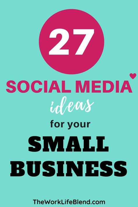 Are you looking for social media post ideas for your business? If you struggle with ideas of what to post on Facebook, Twitter, Instagram or any of the other social media platforms this post will give you tons of ideas! Lots of ideas on how to gain more followers and increase engagement with your audience. 27 awesome ideas for your social media marketing calendar. #socialmediamarketing