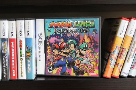 Mario Luigi Partners In Time More On Retrochronicle Com