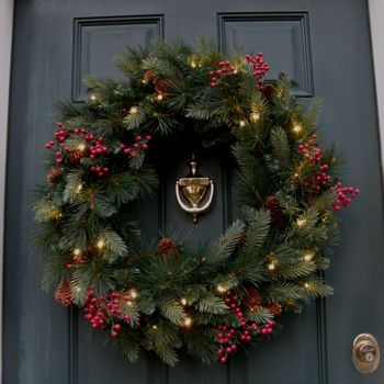 12 best Fresh Evergreen Garland images on Pinterest | Costco ...