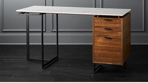 Fullerton Modular Desk With Drawer And Leg Reviews Cb2 Desk With Drawers Modular Desk Desk