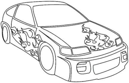 Imagenes De Carros De Carrera Para Colorear Dibujos De Autos